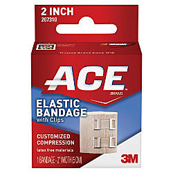 ACE Elastic Bandage with E Z