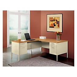 HON Metro Classic Desk Single Right