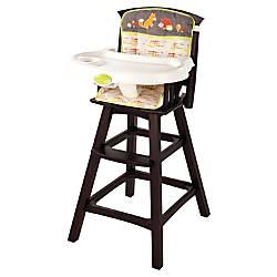 Summer Infant Classic Comfort Wood Highchair