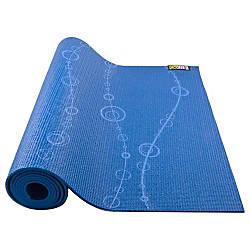 GoFit Designer Yoga Mat Bubbles