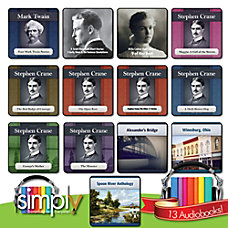 American Short Stories Novels Audiobooks Collection