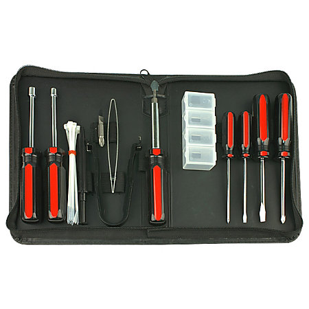 rosewill 15 piece standard computer tool kit by office depot officemax. Black Bedroom Furniture Sets. Home Design Ideas