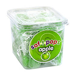 Saf T Pops Green Apple Box