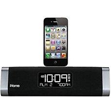 iHome iDN45 Desktop Clock Radio Apple