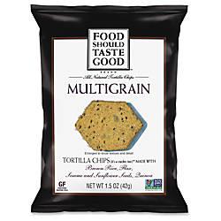 General Mills Multigrain Tortilla Chips Fat