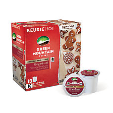 Green Mountain Coffee Pods Gingerbread Coffee