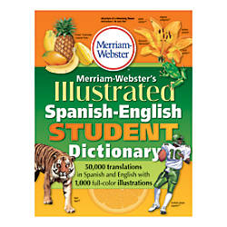 Merriam Websters Illustrated Spanish English Student