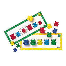 Learning Resources Three Bear Family Pattern