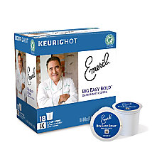 Emerils Big Easy Coffee K Cups