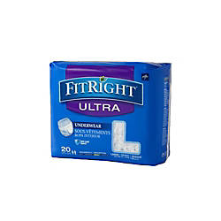 FitRight Ultra Protective Underwear Large 40