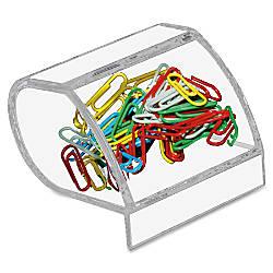 Kantek Acrylic Paper Clip Holder 3