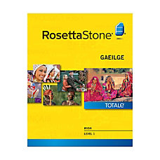 Rosetta Stone Irish Level 1 Mac
