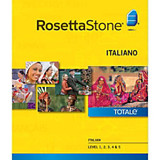Rosetta Stone Italian Level 1 5