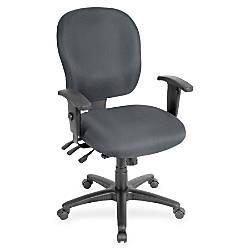 Lorell Adjustable Waterfall Design Task Chair