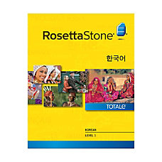Rosetta Stone Korean Level 1 Mac