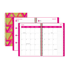 Divoga Paperboard Cover WeeklyMonthly Planner 8