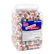 Necco Wafer Rolls 202 Oz Chocolate
