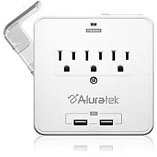 Aluratek Mini Surge Dual USB Charging