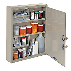 MMF Industries Dual Locking DrugNarcotics Cabinet