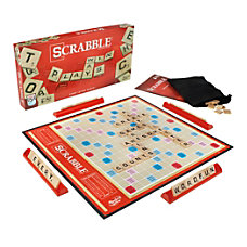 Hasbro Scrabble Brand Crossword Board Game