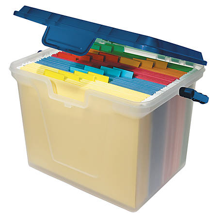 Office Depot Brand Portable File Box 10 1116 H X 14 W