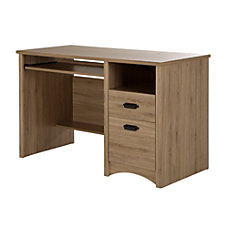 South Shore Gascony Particleboard Computer Desk