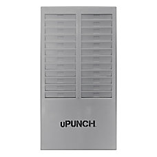 uPunch Time Card Rack 24 Pockets