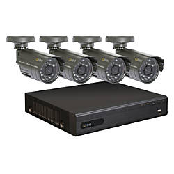 Q-See™ 8-Channel DVR Surveillance System With 4 Weatherproof Cameras
