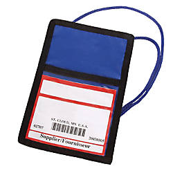 Trade Show Large Badge Pouch 7