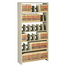 Tennsco Snap Together Open Shelving Unit