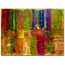Trademark Global Color Panel Abstract Gallery