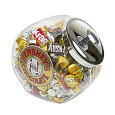 Hersheys Miniatures Assortment Gold Label Jar