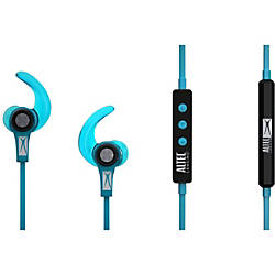 altec lansing waterproof bluetooth sport earbuds blue by office depot officemax. Black Bedroom Furniture Sets. Home Design Ideas