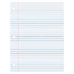 Pacon College Ruled Filler Paper 100
