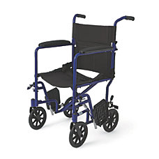 Medline Aluminum Transport Chair 8 Wheels