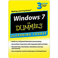 Windows 7 For Dummies 30 Day