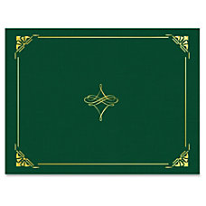 Geographics Gold Foil Border Certificate Holder