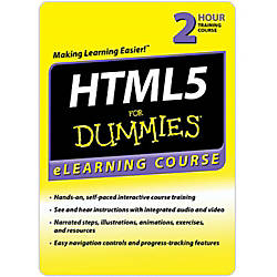 HTML 5 For Dummies 6 Month