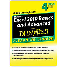 Excel 2010 Basics Advanced For Dummies