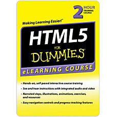 HTML 5 For Dummies 30 Day
