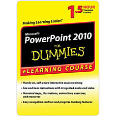 PowerPoint 2010 For Dummies 6 Month
