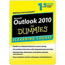 Outlook 2010 For Dummies 6 Month