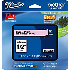 Brother TZe Label Tape 047 Width