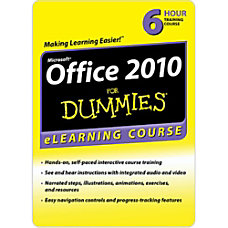 Office 2010 For Dummies 6 Month