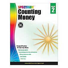 Spectrum Counting Money Workbook Grade 2