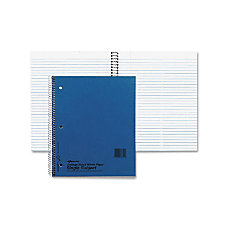 Rediform National 3 Subject Notebook With