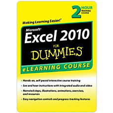 Excel 2010 For Dummies 6 Month
