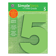 Thinking Kids Simple Steps Grade 5