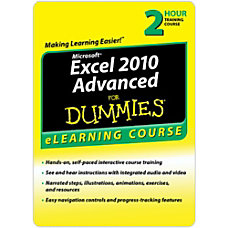 Excel 2010 For Dummies Advanced 6