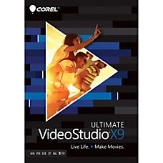 Corel VideoStudio Pro X9 Ultimate Download